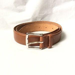 J. Crew Leather Brown Belt. Size 38
